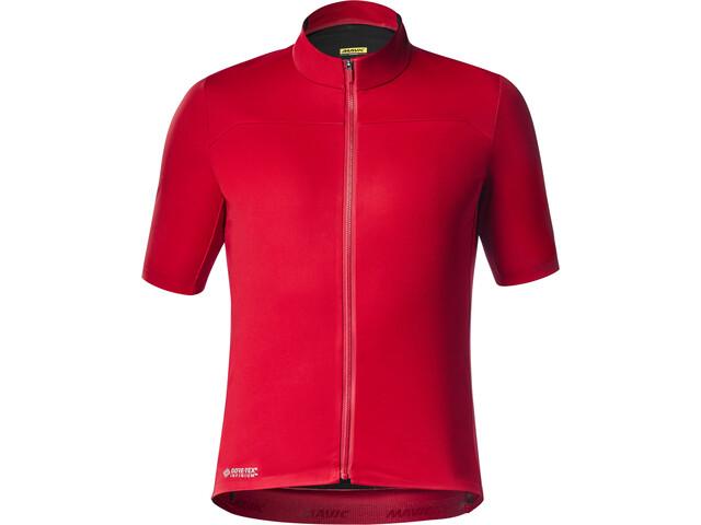 Mavic Mistral Jersey Heren, rood